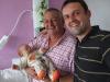 Le grand-père et son martin pêcheur