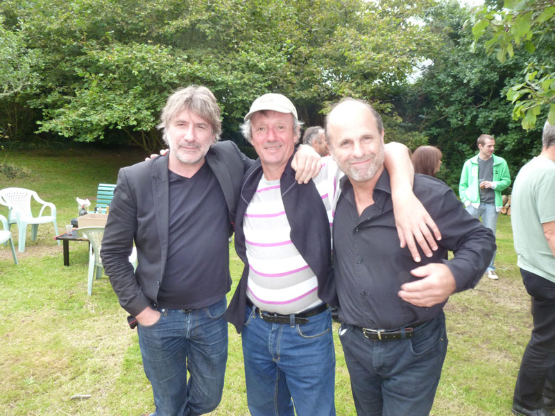 Avec Gérard Pont et Charles Muzy
