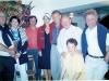 Les familles Masson, Squiban, Cuillandre et Patrick Poivre d'Arvor à Molène