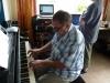Alain et moi au kastellig à Molène le 26 août dernier avant mon enregistrement de Molène II