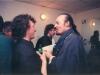 Avec Alan Stivell après un concert de An tour tan au Bataclan