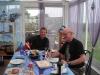 Repas de calamars chez Liliane sur l'ile Molène