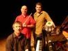 Le trio Didier Squiban, Pascal Vandenbulcke et Pascal Kerihuel en Corée
